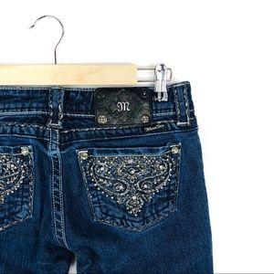 🆕 Miss Me Bedazzled Denim Skinny Jeans